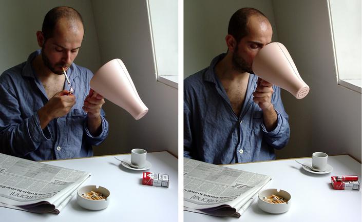 Elio Caccavale, Utility Pets (Smoke Eater), 2003. Elio Caccavale Design Studio.