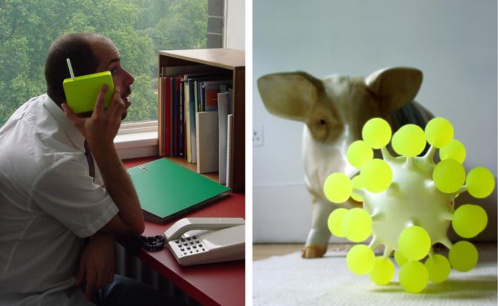 Elio Caccavale, Utility Pets (Toy Communicator), 2003. Elio Caccavale Design Studio.