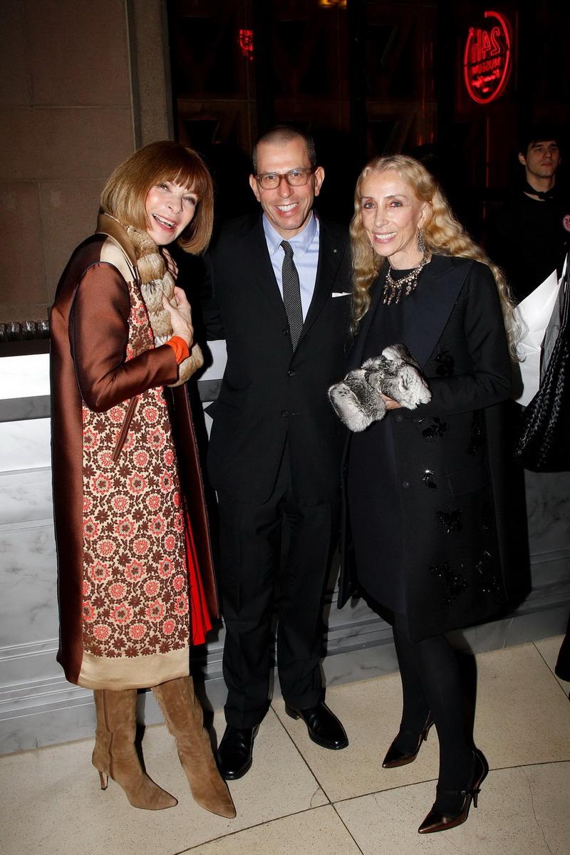 Anna Wintour, Jonathan Newhouse e Franca Sozzani.