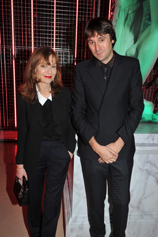 Isabelle Huppert e Francesco Vezzoli.
