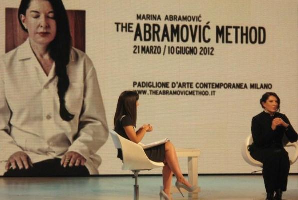 Marina Abramović on TV