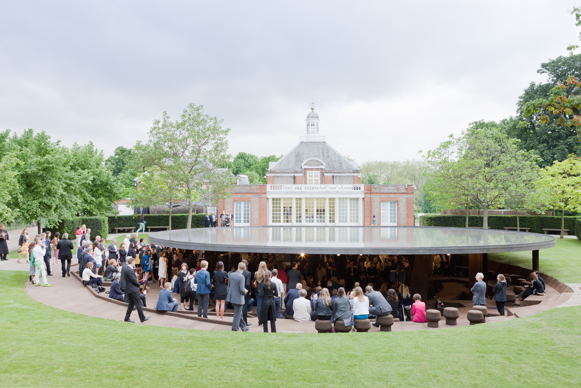 Serpentine Gallery Pavilion 2012. Designed by Herzog & de Meuron and Ai Weiwei. © Herzog & de Meuron and Ai Weiwei. Photo: © 2012 Iwan Baan
