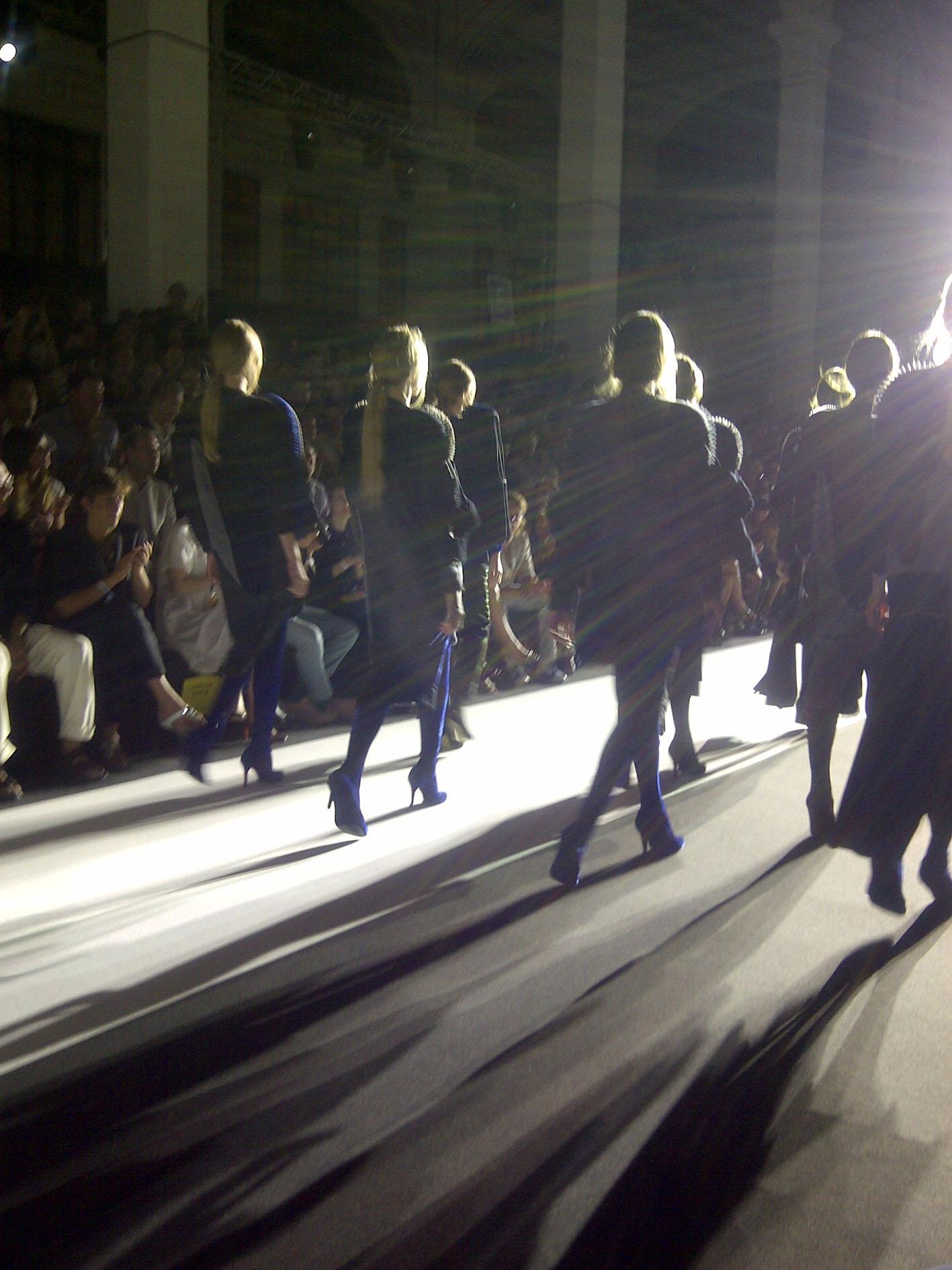 Sfilata / Show ITS 2012. Photo: Caroline Corbetta
