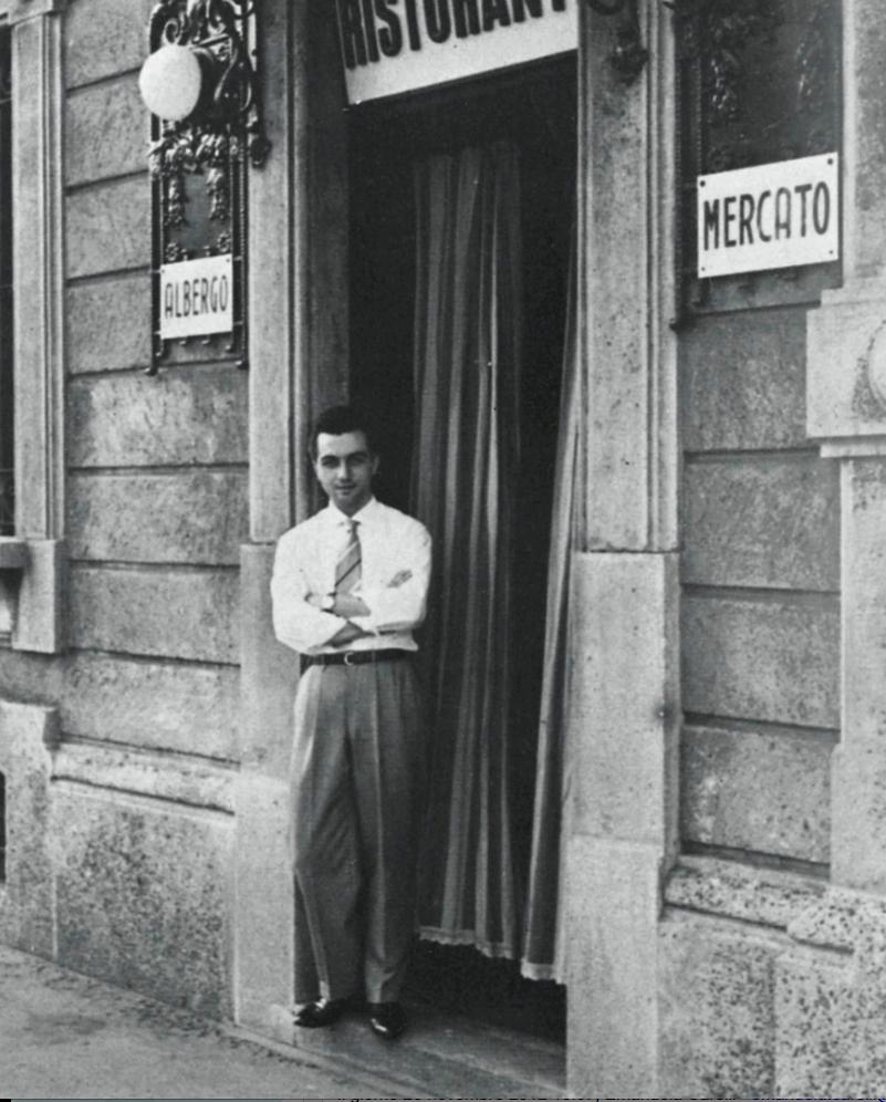 Gualtiero Marchesi, 1950.