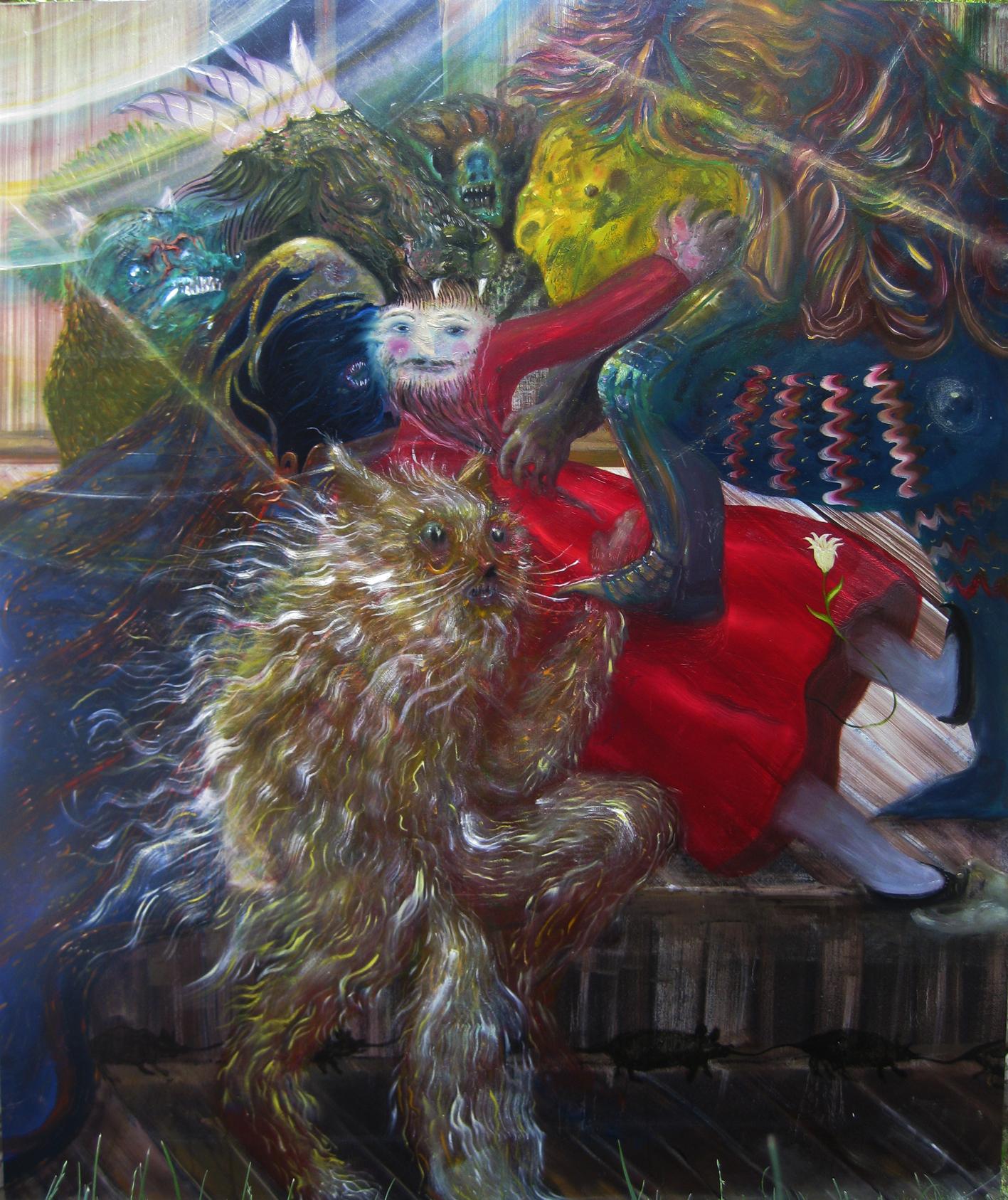 Thomas Braida, Le tentazioni di santantonio, 2012. Collezione privata.