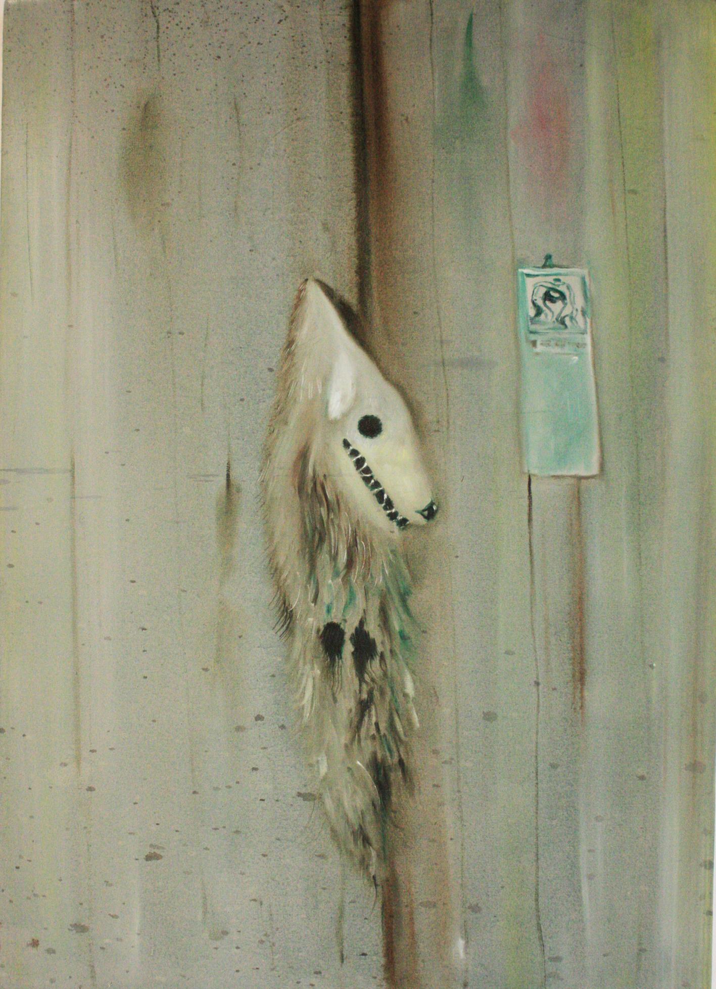 Thomas Braida, Pello al chiodo, 2012. Collezione privata.