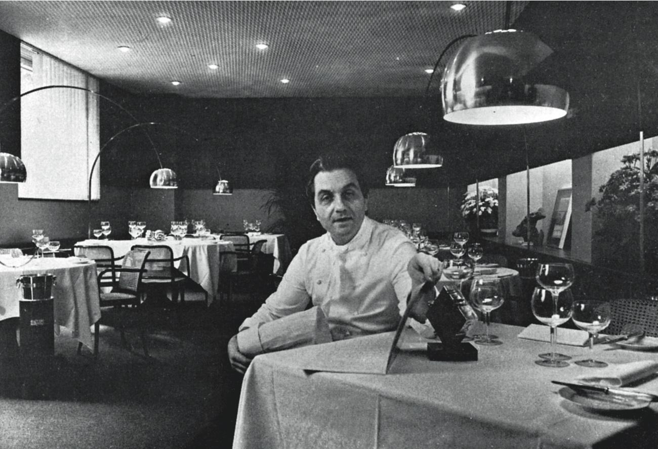 Gualtiero Marchesi, Bonvesin de la Riva, 1980.