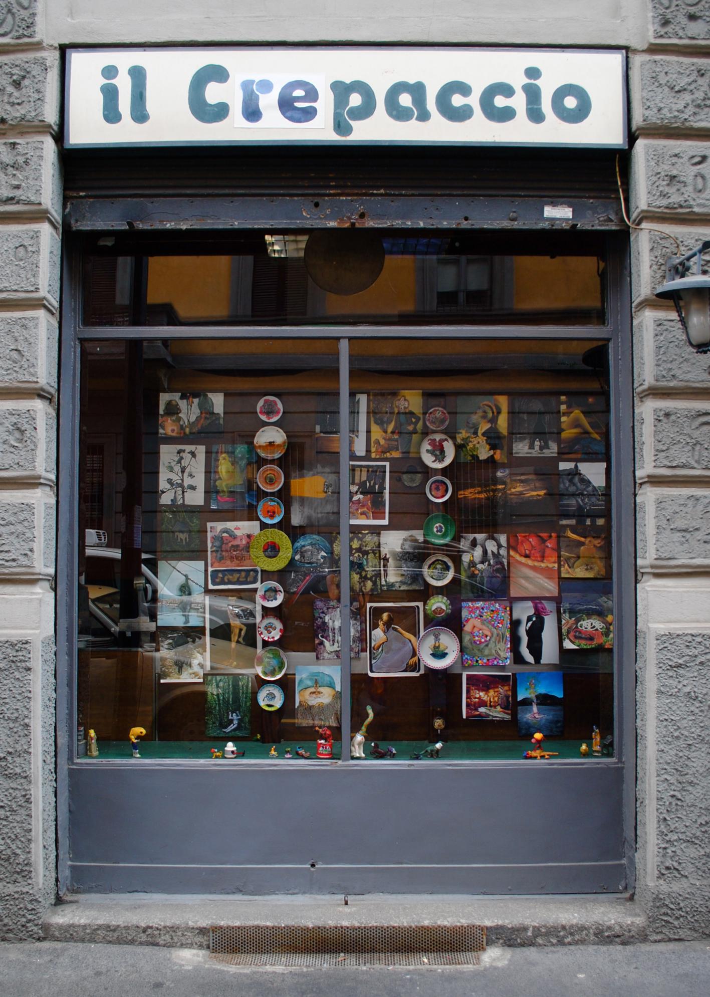 Installazione di Thomas Braida per Il Crepaccio, Milano, 2012. / Installation by Thomas Braida for Il Crepaccio, Milan, 2012.
