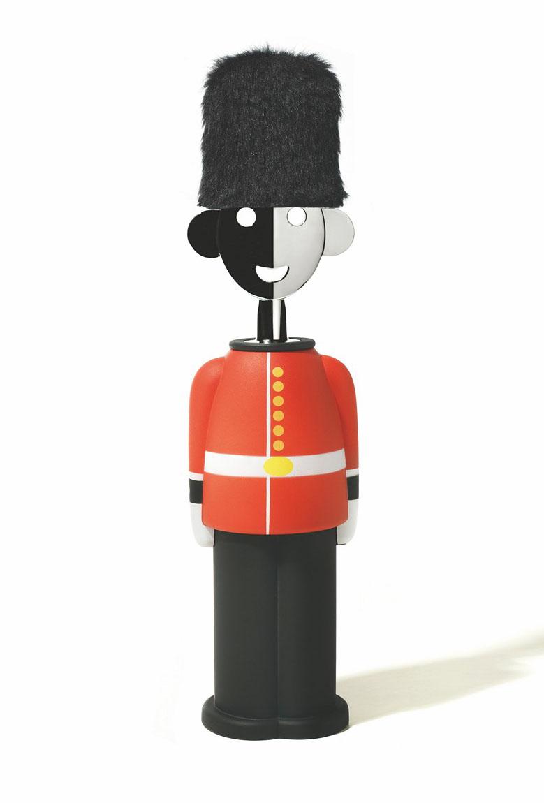Alessandro M. - Queen's Guard, design by Alessandro Mendini per/for Alessi, 2012.