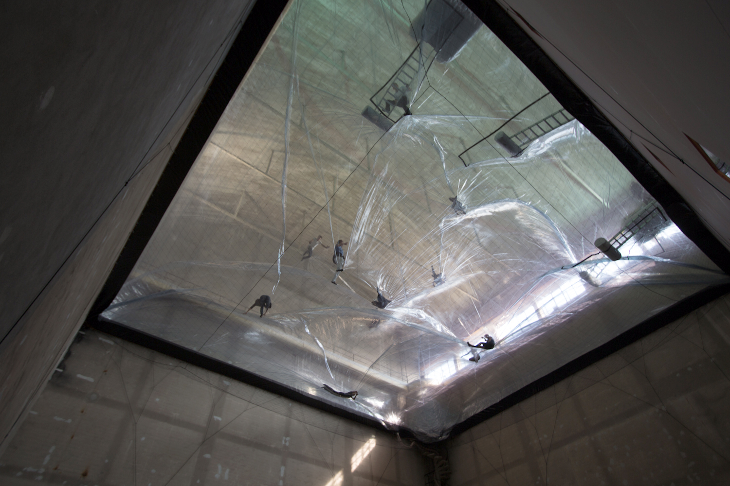 Tomás Saraceno, On Space Time Foam, 2012. Photo: Alessandro Coco. Courtesy: Fondazione Hangar Bicocca, Milano.