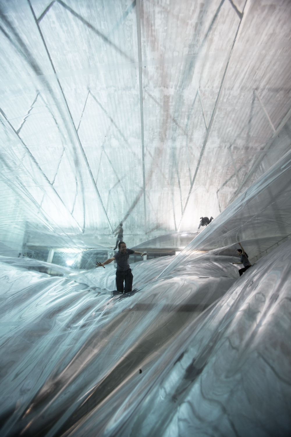 Tomás Saraceno On Space Time Foam 2012