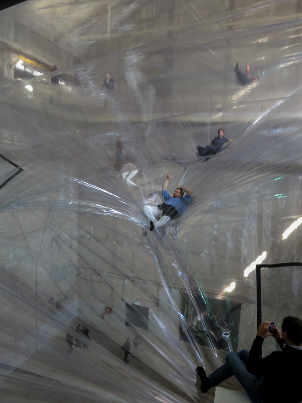 Tomás Saraceno On Space Time Foam 2012