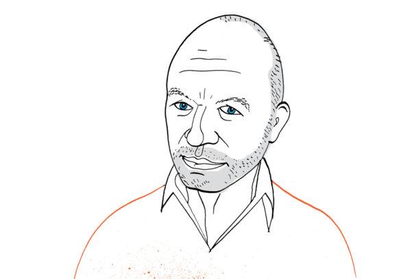 Nigel Coates, ritratto di Carlo Stanga.