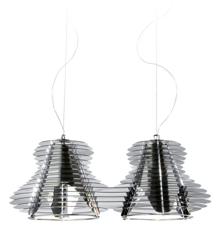 Nigel Coates, Faretto Doppio, 2011. Design per Slamp.