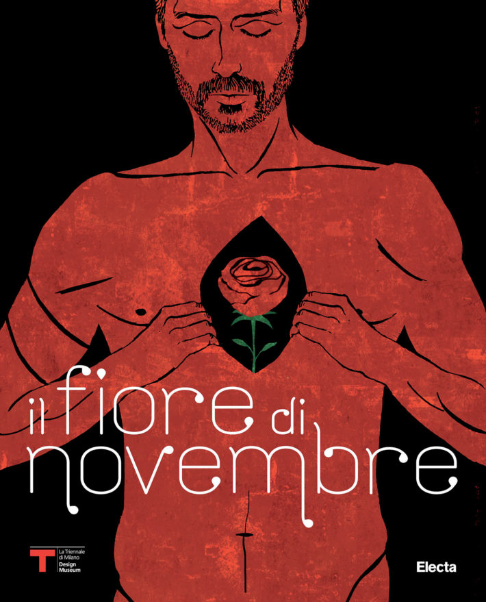 Il Fiore di Novembre. Cover di Emiliano Ponzi.