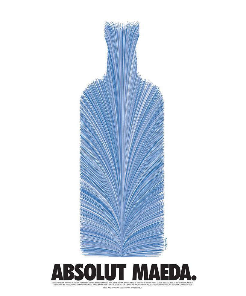 John Maeda Absolut Vodka