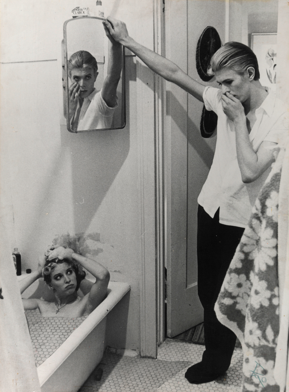 David Bowie Fotomontaggio da The Man Who Fell to Earth