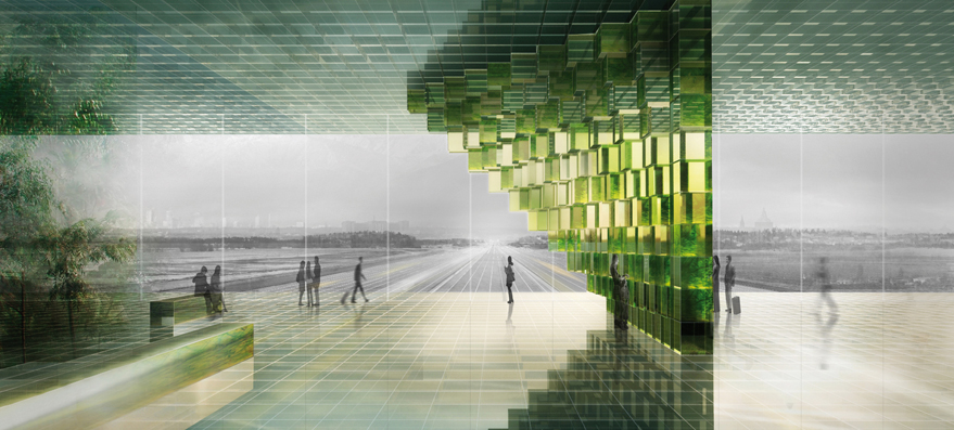 OBR Open Building Research, Right to Energy, Genova, Italy. Courtesy OBR Open Building Research