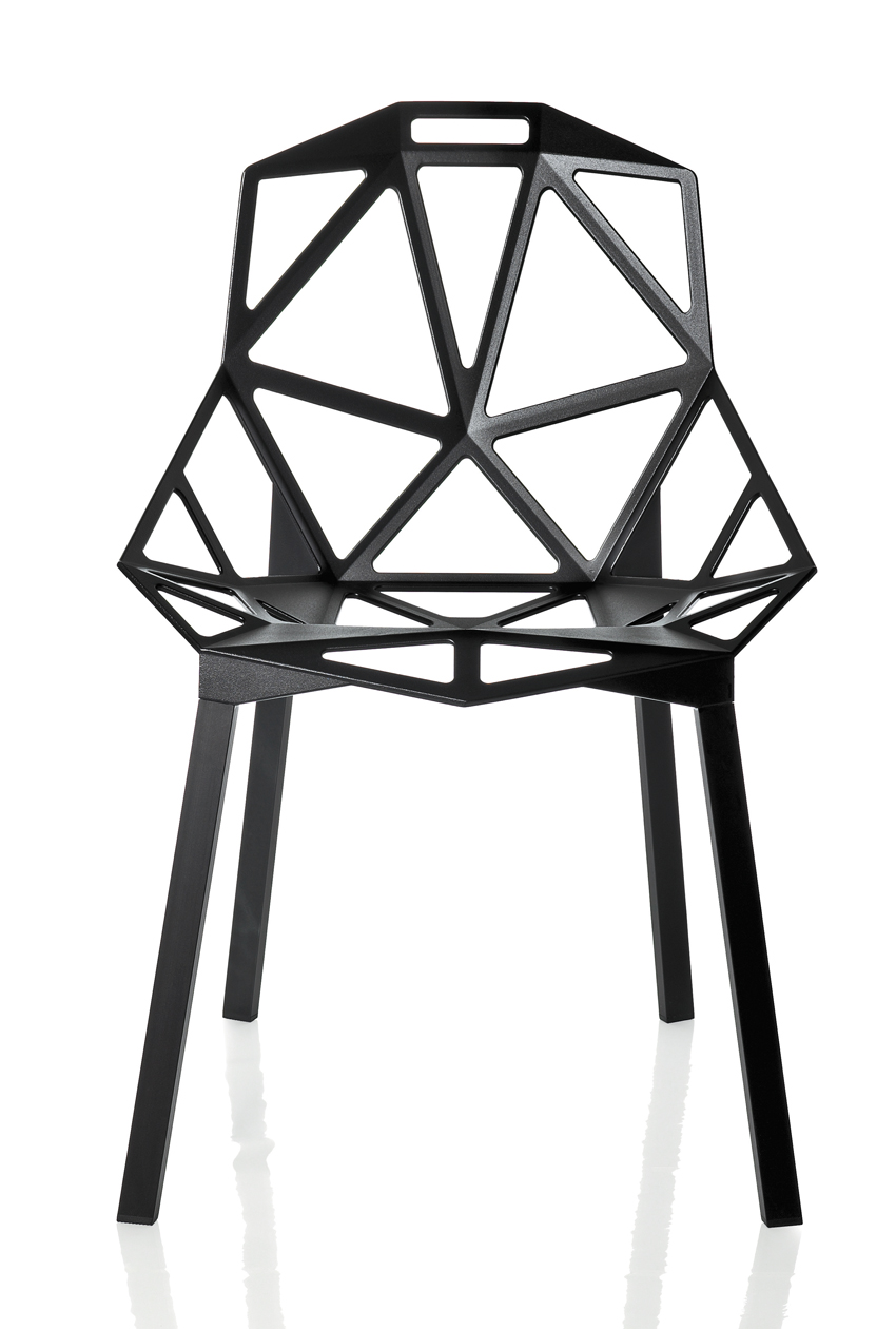 Konstantin Grcic, Chair_ONE, 2004. Design per Magis