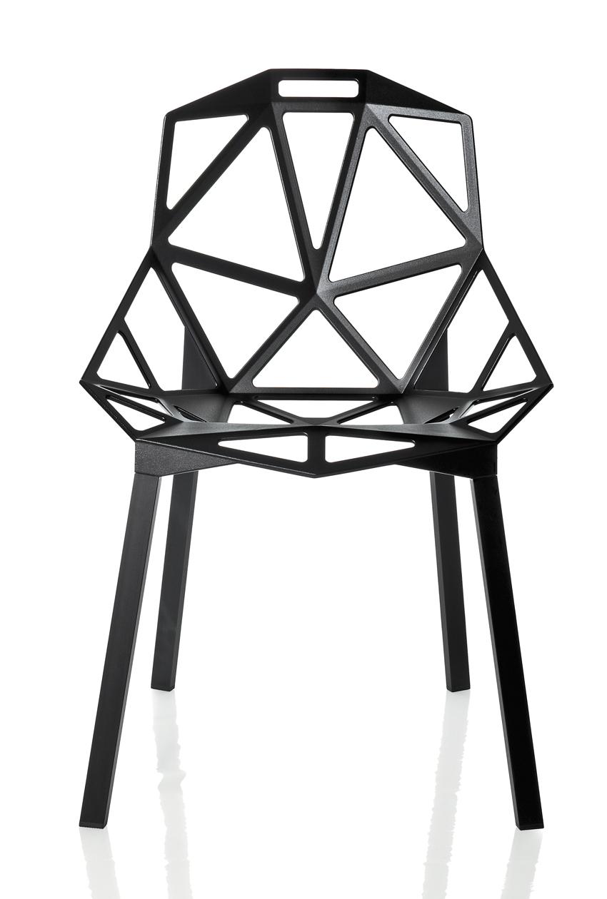 Konstantin Grcic, Chair_ONE, 2004. Design per Magis