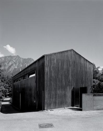 Zumthor Studio, Haldenstein, 1986.