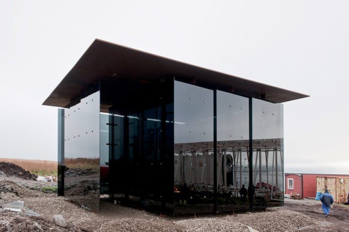 Peter Zumthor, Memorial to the Burning of Witches, Vardø, 2007-ongoing (model). Photo: Jiri Havran.