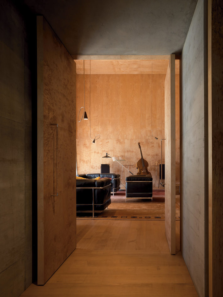 Zumthor House, Haldenstein, 2005. Photo: Pietro Savorelli.
