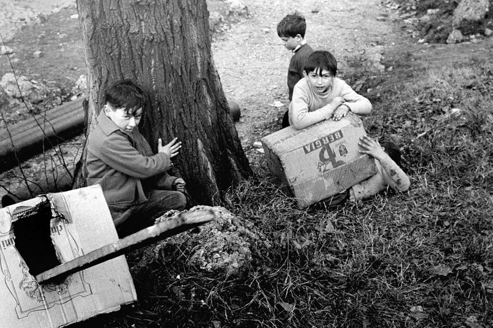 Cesare Colombo – Parco Sempione: piccole manovre, Milano 1959