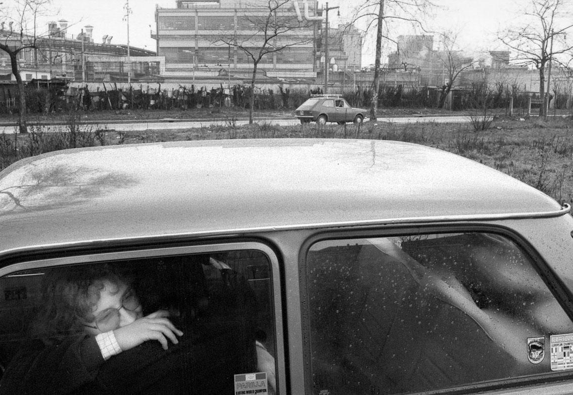 """Cesare Colombo – Dalla serie """"L'amore in città"""". Quartiere Bovisa, Milano 1974"""