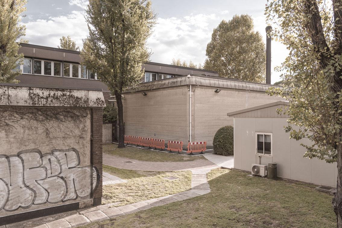 """Giovanni Hänninen – Dalla serie """"cittàinattesa"""". Il reattore nucleare. Politecnico di Milano Dipartimento di Ingegneria nucleare, Città studi, Milano 2012"""