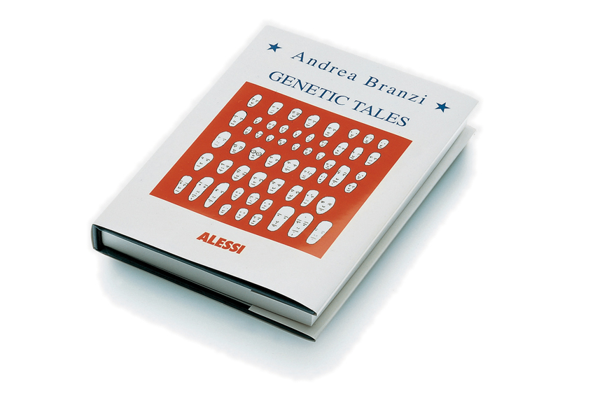 Andrea Branzi, Genetic Tales, 1998. Design per/for Alessi.