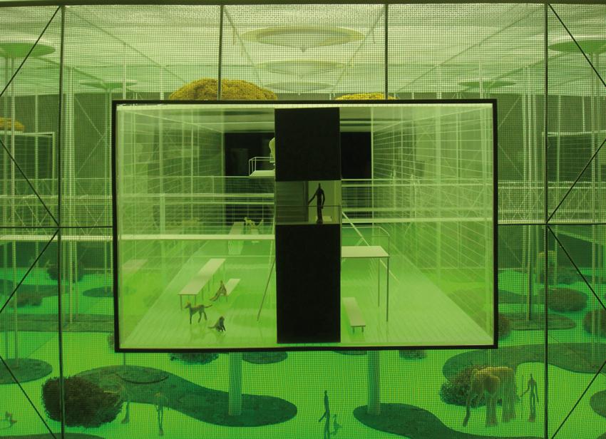 Andrea Branzi, Casa madre, Biennale di Architettura di Venezia, 2008. Courtesy: Fondazione La Biennale di Venezia