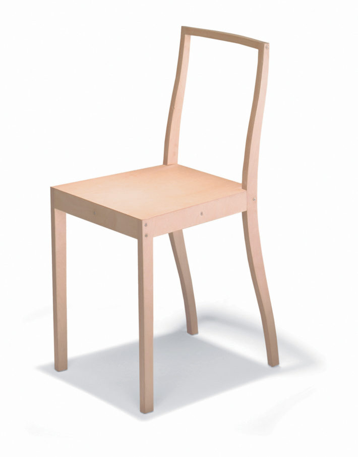 Jasper Morrison Vitra Plywood Chair