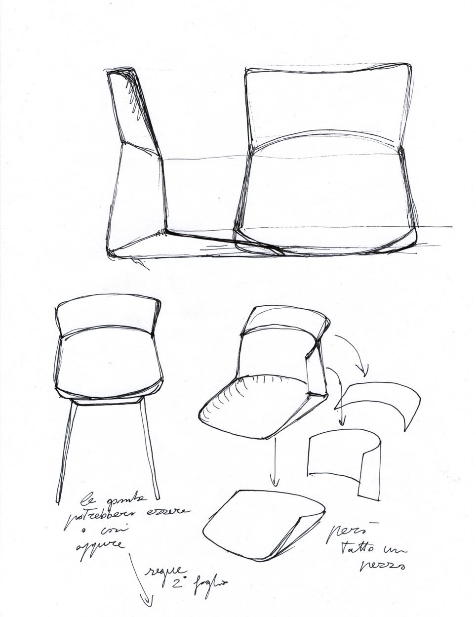 Luca Nichetto, Motek, design per Cassina