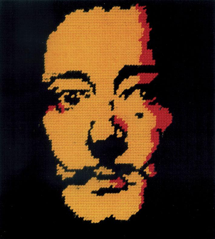 Francesco Vezzoli, Salvador Dalí, 1998..