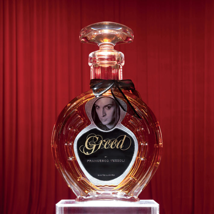 Francesco Vezzoli, Greed, The Perfume That Doesn't Exist, 2009
