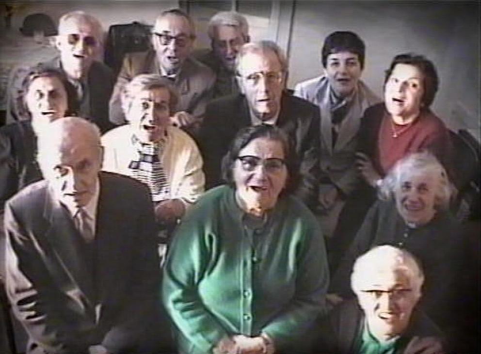 Adrian Paci, Apparizione, 2001. Courtesy: Adrian Paci and Kaufmann Repetto, Milan.
