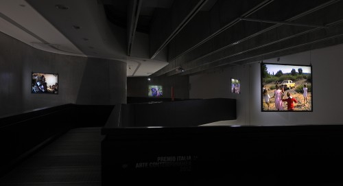 """The Visitors"", MAXXI, Rome, 2012"