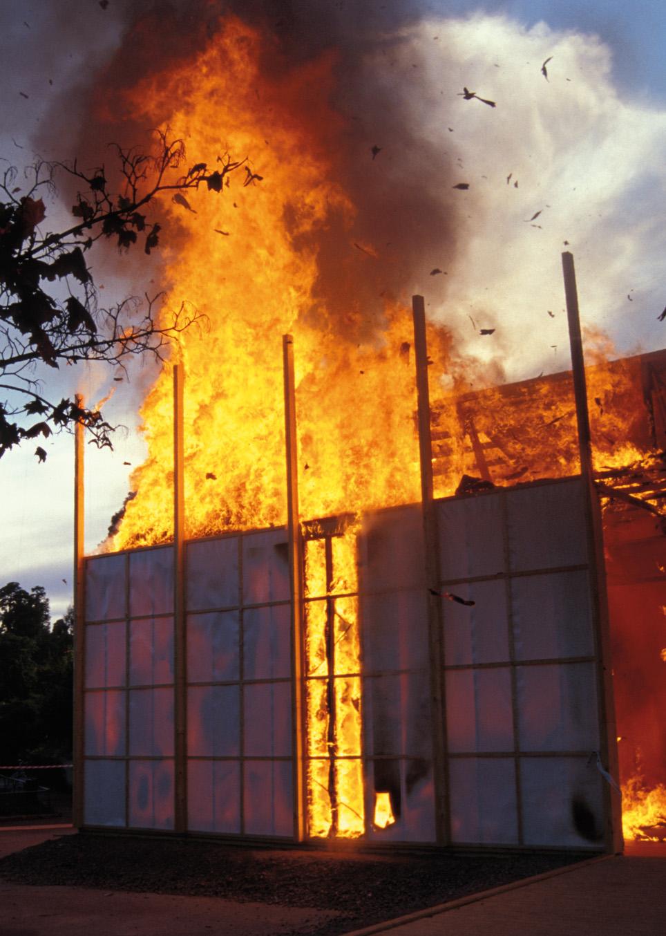 Alfredo Jaar, The Skoghall Konsthall, 2000. Courtesy: Galleria Lia Rumma, Milano