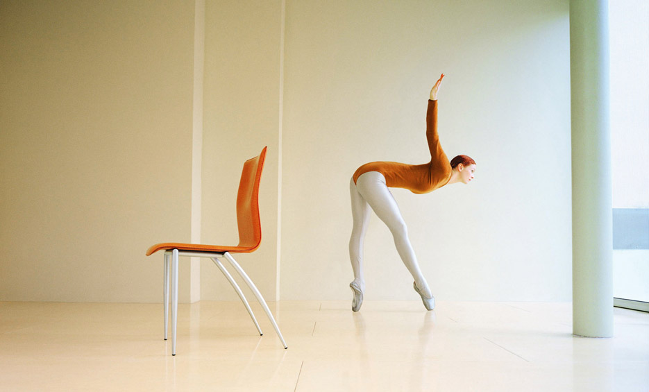 David Stewart, Ballet Chair. Courtesy: David Stewart e/and Anteprima D'Arte Contemporanea Gallery