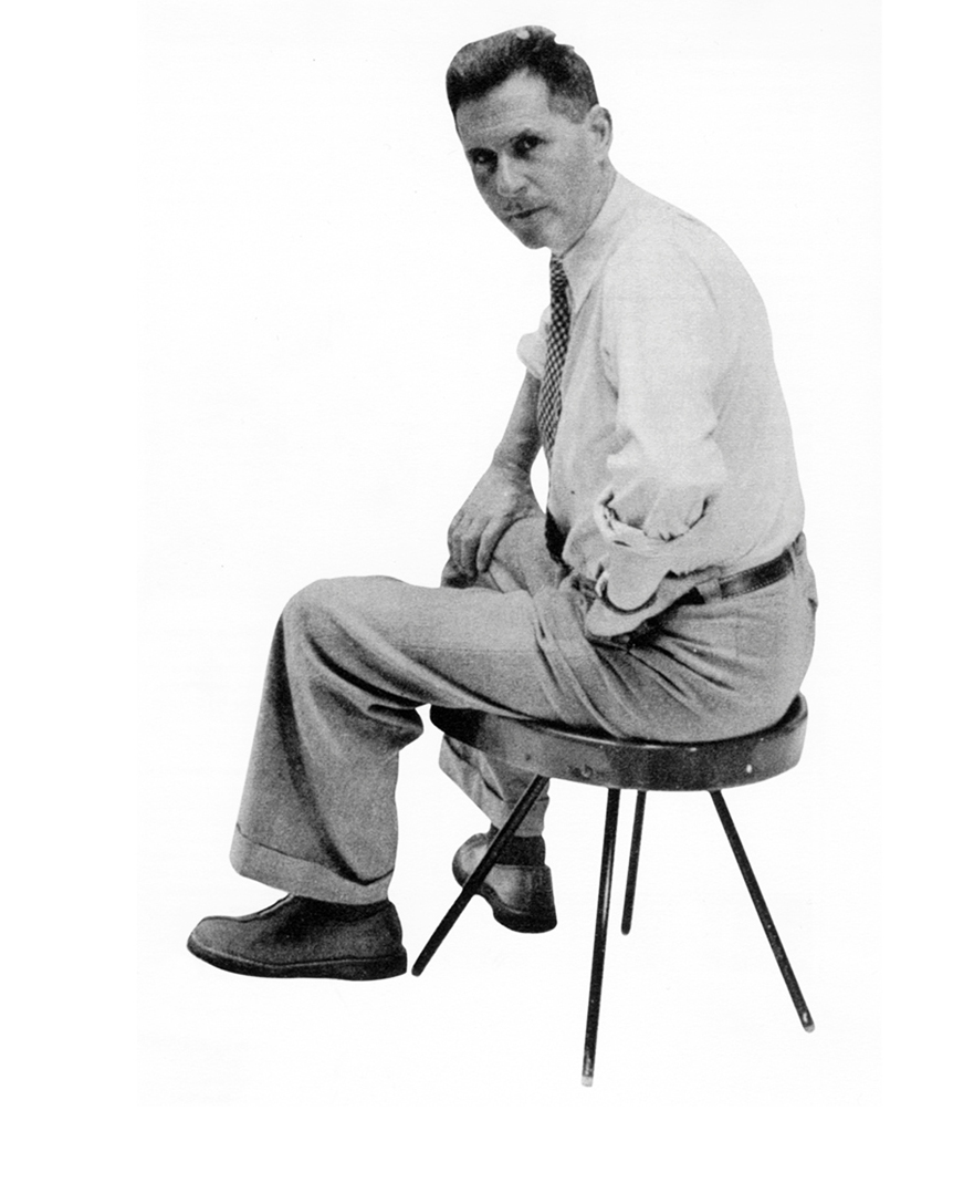 Jean Prouvé, Sgabello N ° 307, 1951
