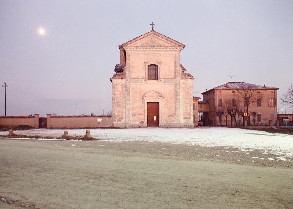 Luigi Ghirri Cittanova Modena 1985