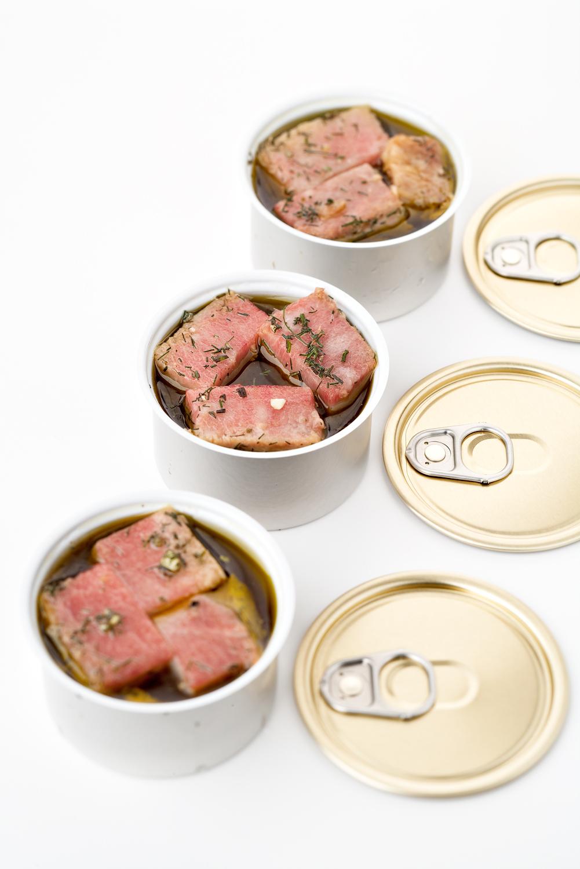 Moreno Cedroni, ventresca di tonno in porchetta all'olio extravergine