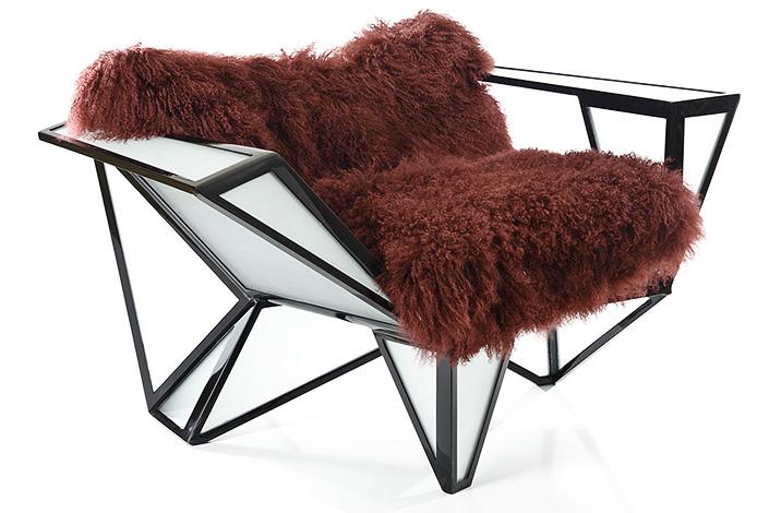Mosaic Chair di di BRC Design (Benjamin Rollins Caldwell)