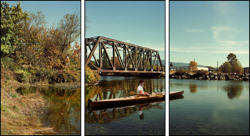Rodney Graham Paddler Mouth of the Seymour 2012/2013