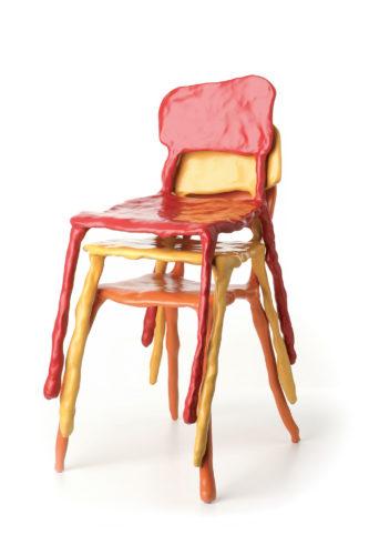 Maarten Baas, Clay Furniture, 2006.