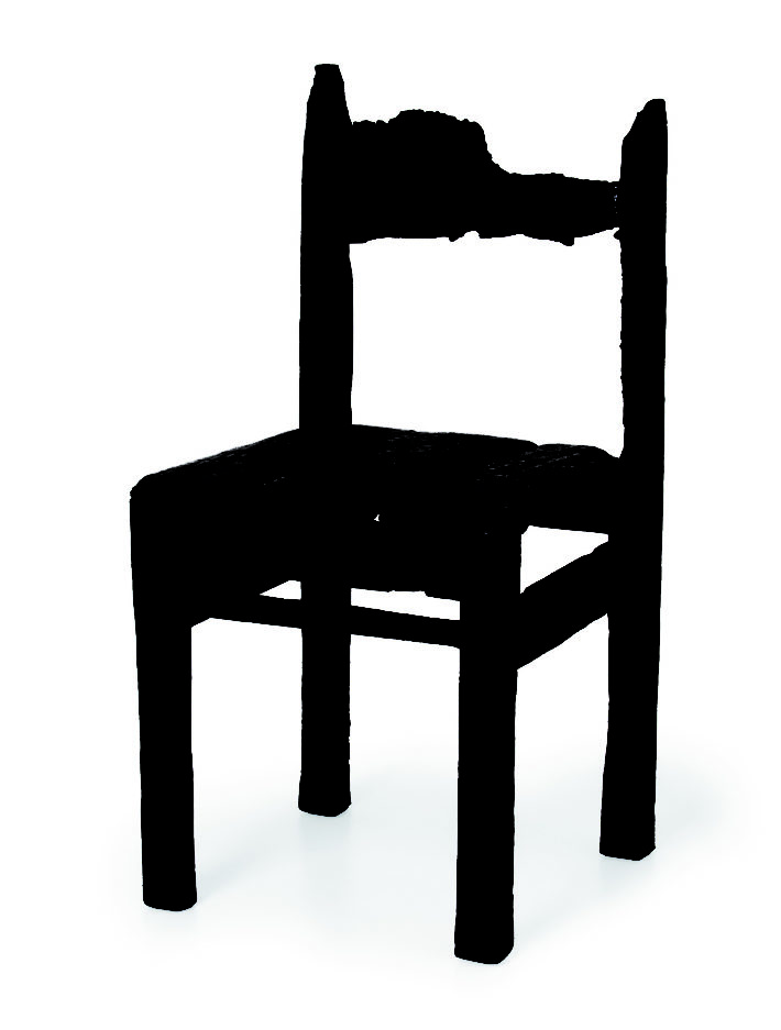Maarten Baas, Where there's smoke - Children Chair Vintage, 2002.
