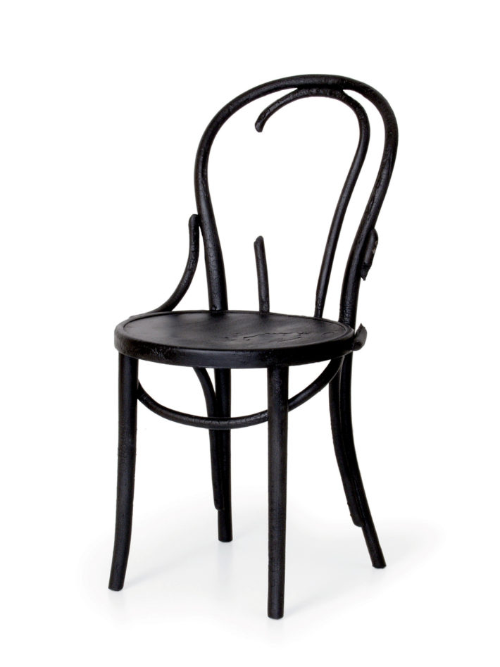 Maarten Baas, Where there's smoke - Thonet, 2002.