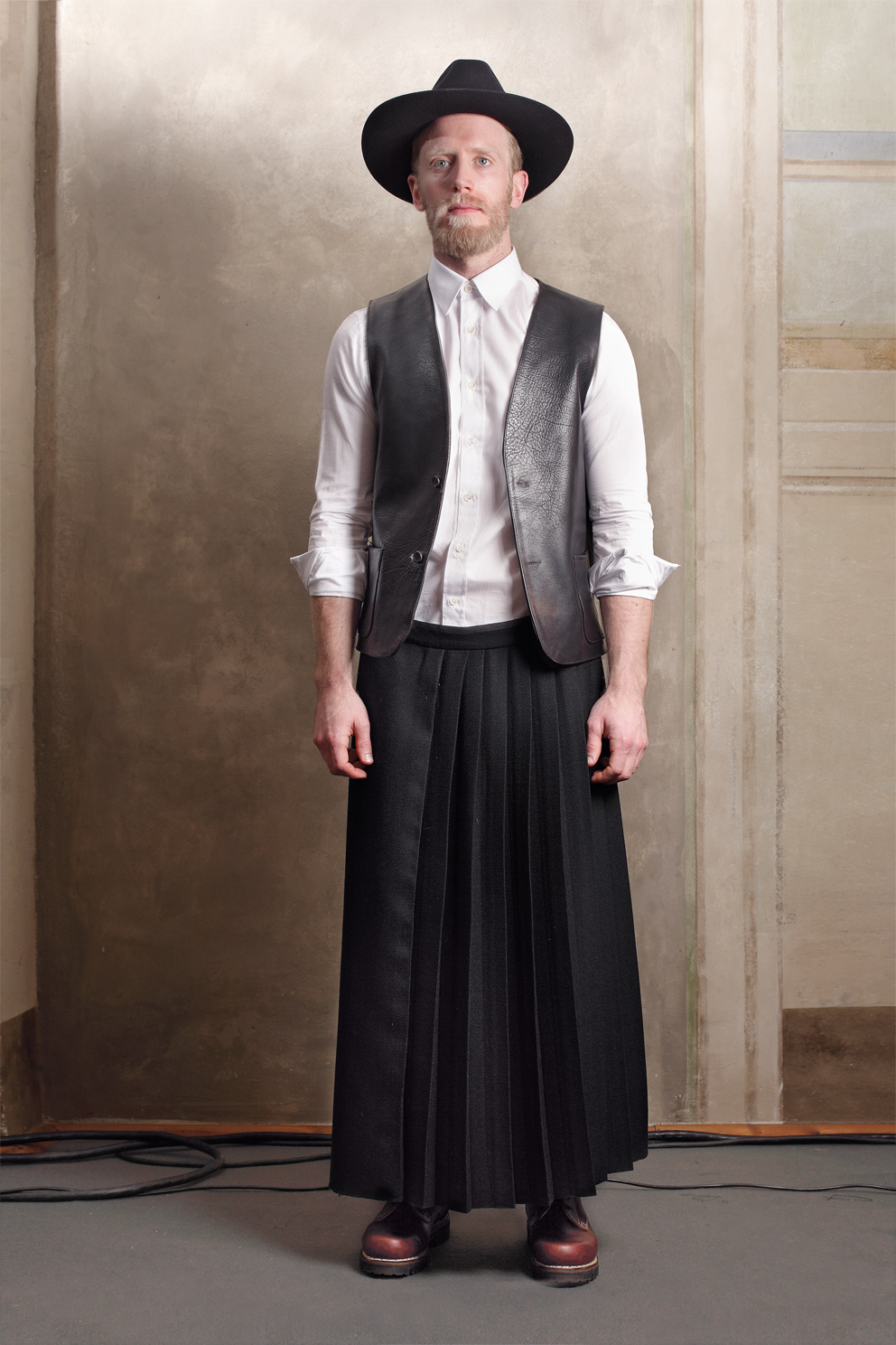 James Jennings for Fabio Quaranta, Autumn/Winter 2011-2012.