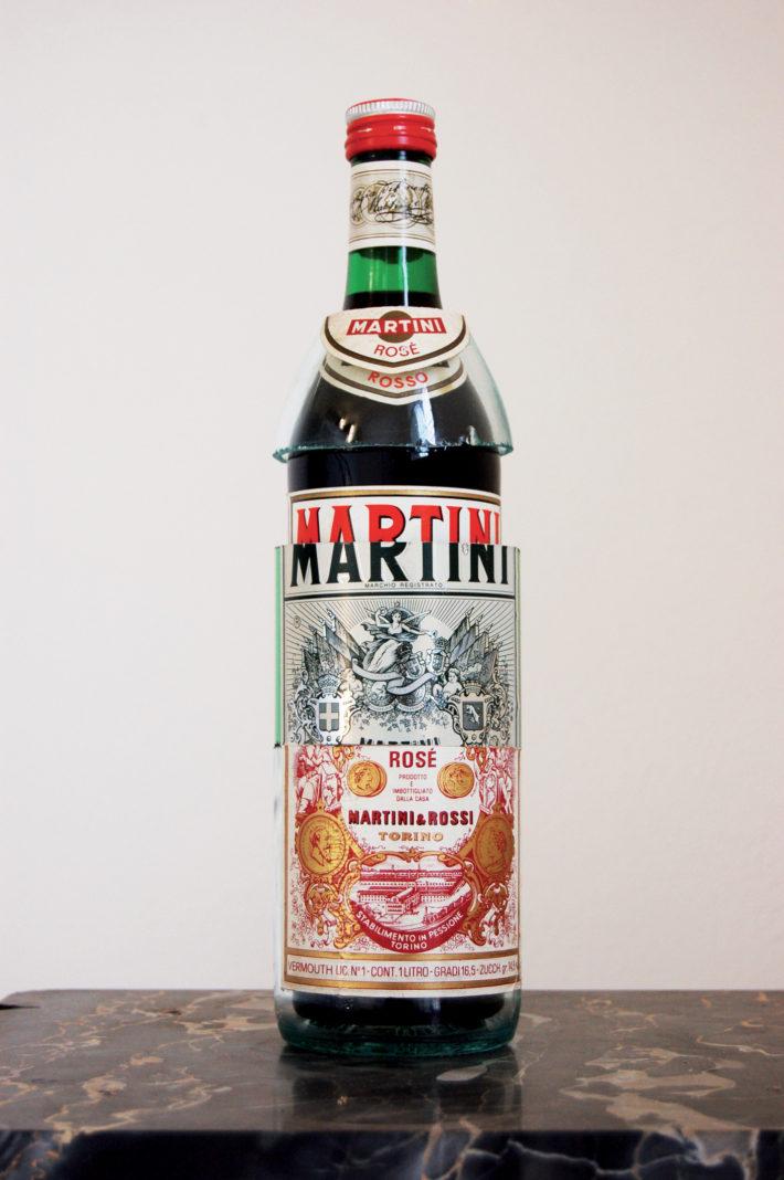 Flavio Favelli, Martini Extra 1, 2007.